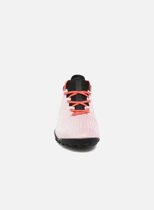 Chaussures de sport adidas performance X Tango 17.3 Tf Blanc vue portées chaussures