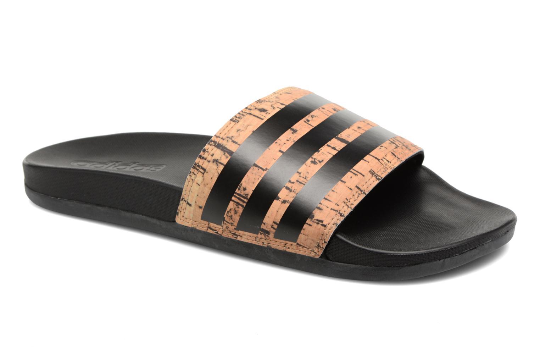 pretty nice 07521 394b0 Sandaler Adidas Performance Adilette Cf+ Cork Brun detaljeret billede af  skoene