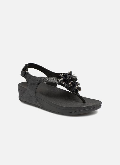 3ec8d85272b8 FitFlop Boogaloo Back Strap Sandal (Black) - Sandals chez Sarenza ...