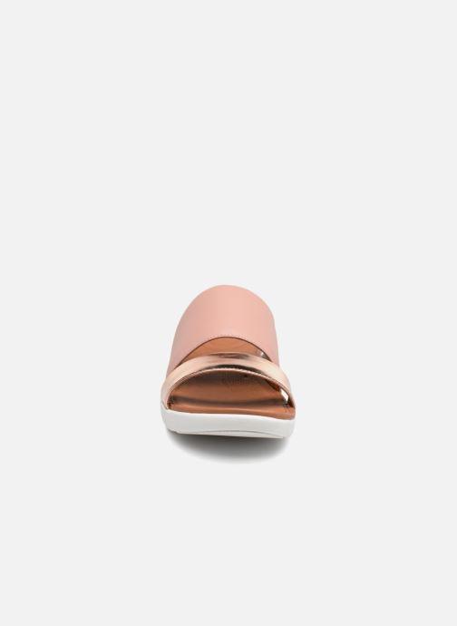 Wedges FitFlop Delta Slide Sandal Goud en brons model