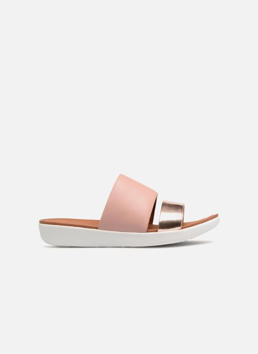 Mules & clogs FitFlop Delta Slide Sandal Bronze and Gold back view