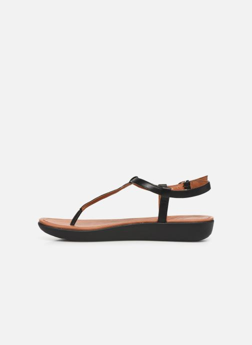 Sandales et nu-pieds FitFlop Tia Noir vue face