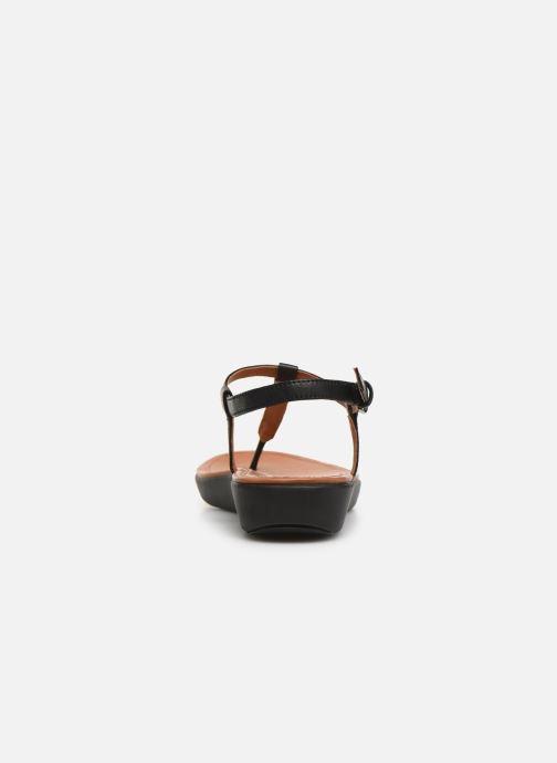 Sandales et nu-pieds FitFlop Tia Noir vue droite