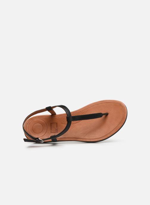 Sandales et nu-pieds FitFlop Tia Noir vue gauche