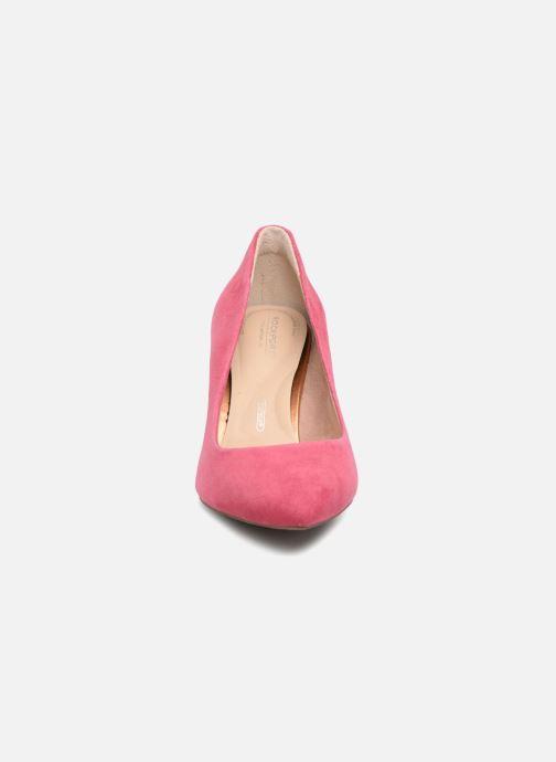 Escarpins Rockport TM Valerie Luxe GR Rose vue portées chaussures