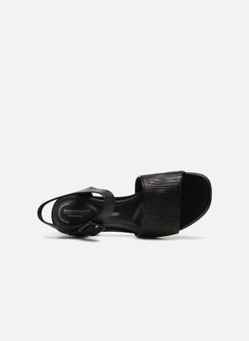 Sandals Rockport TM Alaina 2 Piece Black view from the left
