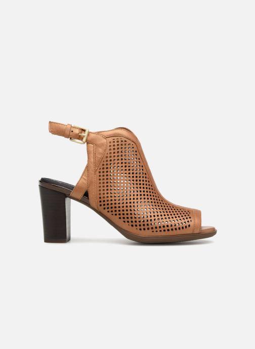 Zapatos de tacón Rockport TM Trixie Perf Shoot Marrón vistra trasera