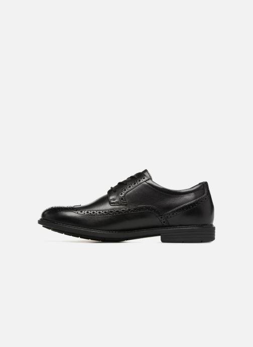 Chaussures à lacets Rockport Madson Wingtip C Noir vue face