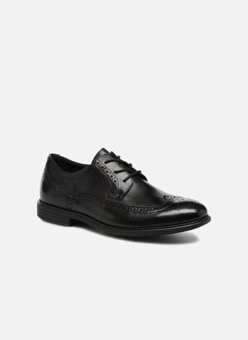 Chaussures à lacets Rockport Madson Wingtip C Noir vue détail/paire