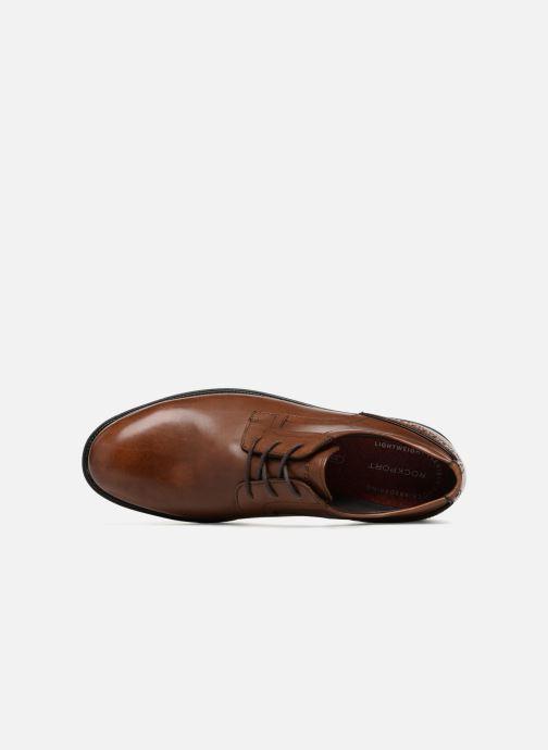 Scarpe con lacci Rockport Madson Plain Toe C Marrone immagine sinistra
