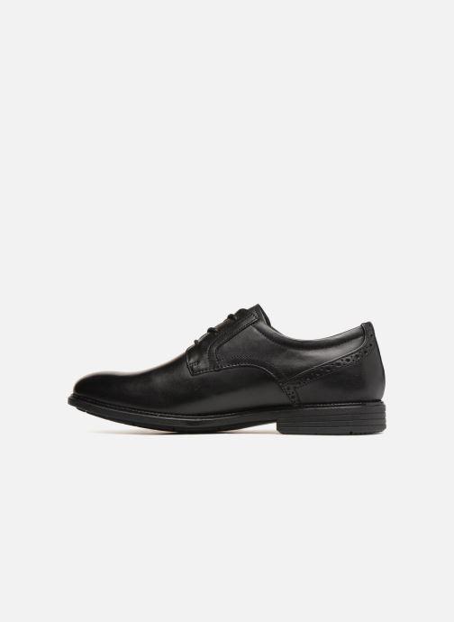 Chaussures à lacets Rockport Madson Plain Toe C Noir vue face