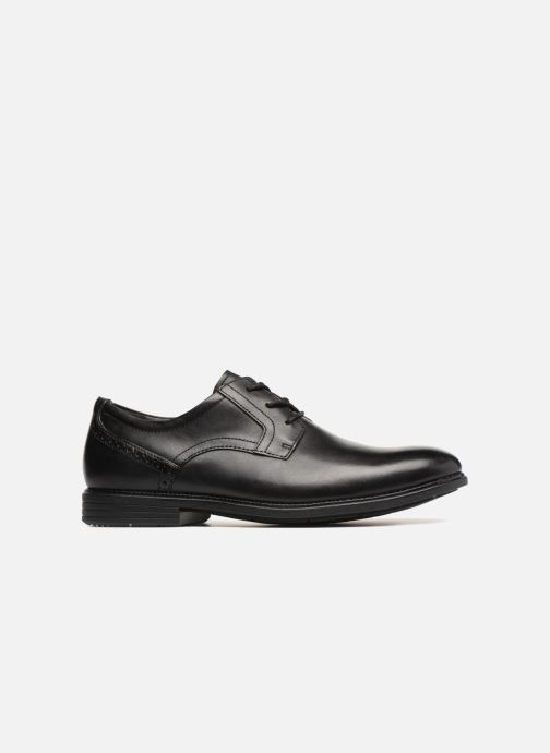 Lace-up shoes Rockport Madson Plain Toe C Black back view
