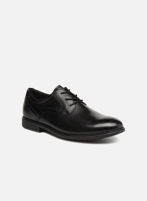 Lace-up shoes Rockport Madson Plain Toe C Black detailed view/ Pair view