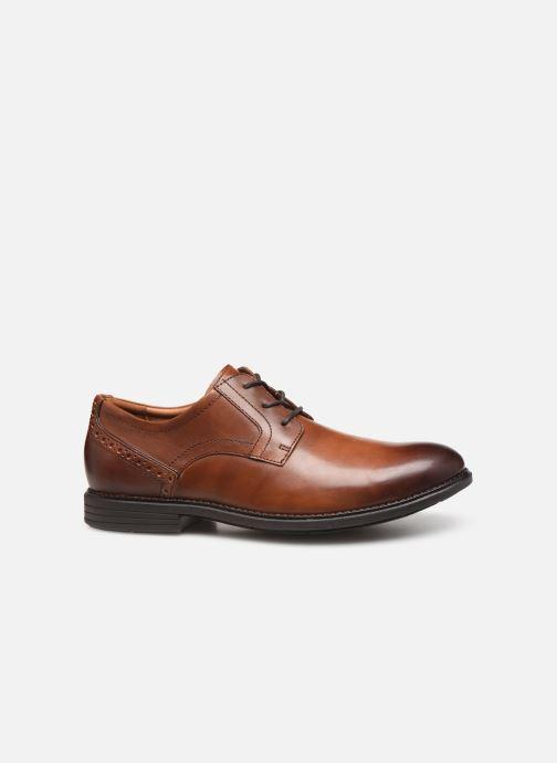 Chaussures à lacets Rockport Madson Plain Toe C Marron vue derrière