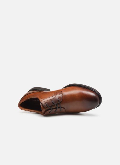 Chaussures à lacets Rockport Madson Plain Toe C Marron vue gauche
