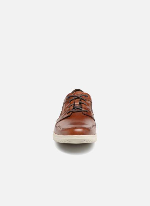 Chaussures à lacets Rockport DP2 Fast Mudguard Marron vue portées chaussures