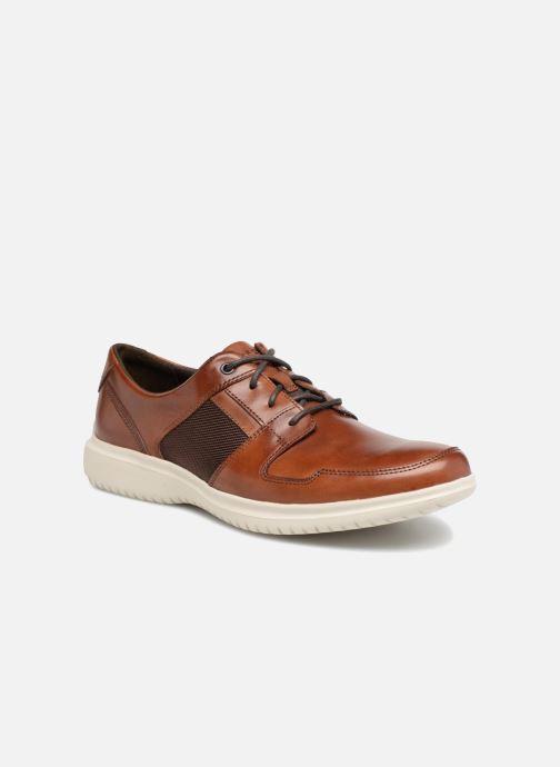 Chaussures à lacets Rockport DP2 Fast Mudguard Marron vue détail/paire