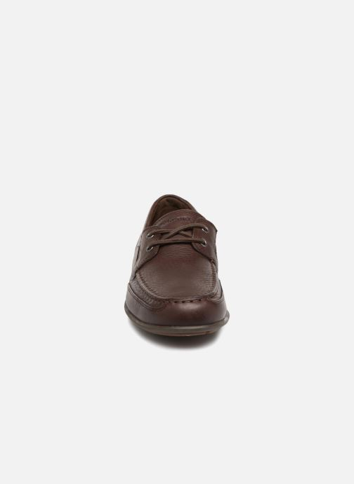 Lace-up shoes Rockport Bl4 Boat Shoe Brown model view