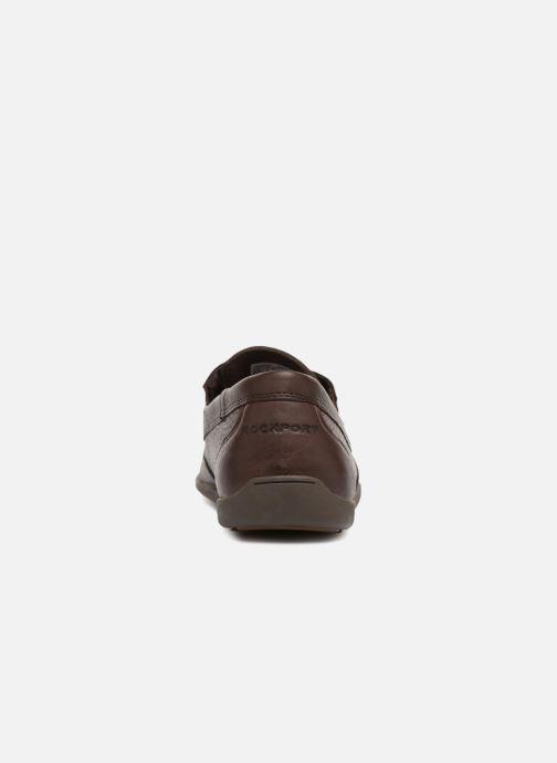Scarpe con lacci Rockport Bl4 Boat Shoe Marrone immagine destra
