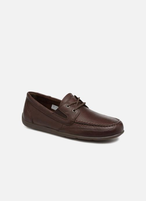 Lace-up shoes Rockport Bl4 Boat Shoe Brown detailed view/ Pair view
