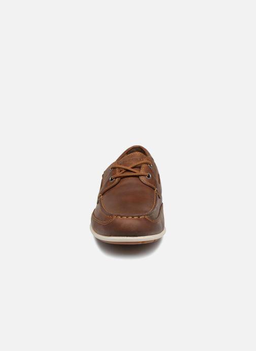 Chaussures à lacets Rockport Bl4 Boat Shoe Marron vue portées chaussures