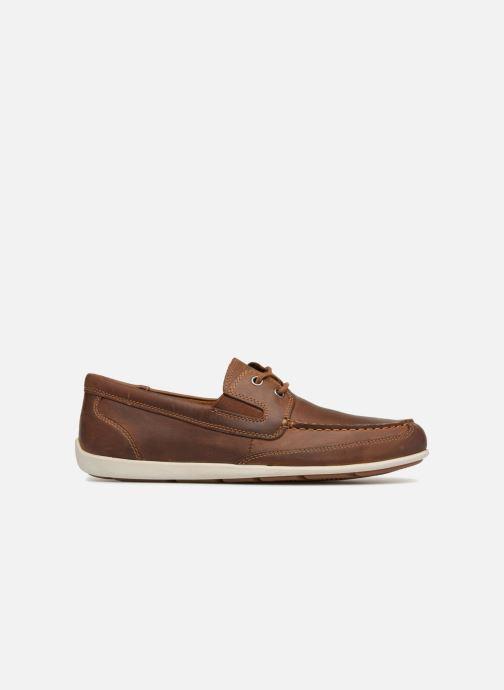 Chaussures à lacets Rockport Bl4 Boat Shoe Marron vue derrière