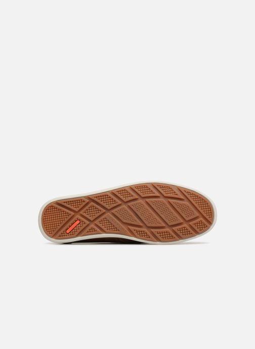 Chaussures à lacets Rockport Bl4 Boat Shoe Marron vue haut