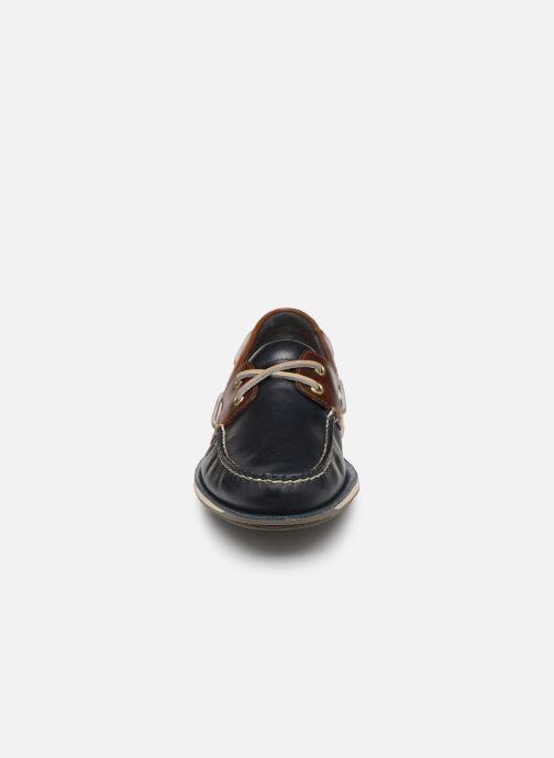 Zapatos con cordones Rockport Perth C Azul vista del modelo