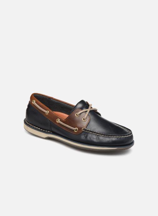 Zapatos con cordones Rockport Perth C Azul vista de detalle / par