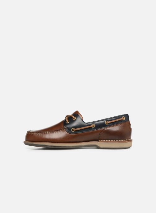 Lace-up shoes Rockport Perth C Brown front view