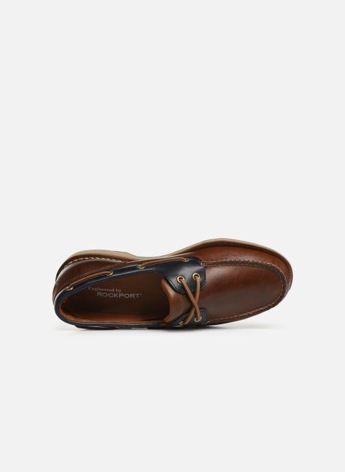 Chaussures à lacets Rockport Perth C Marron vue gauche