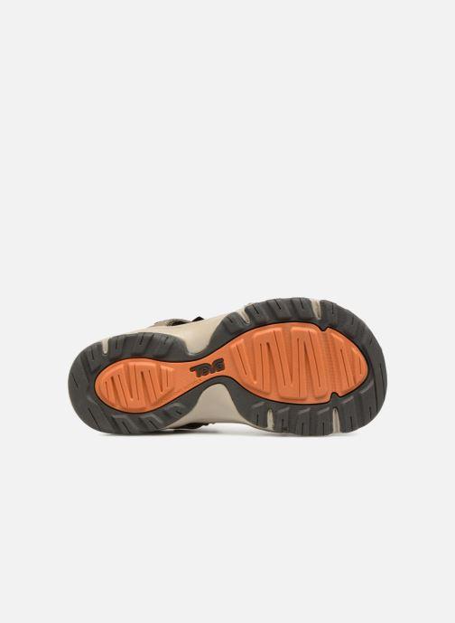 Sandali e scarpe aperte Teva Hurricane Toe Pro Kids Marrone immagine dall'alto