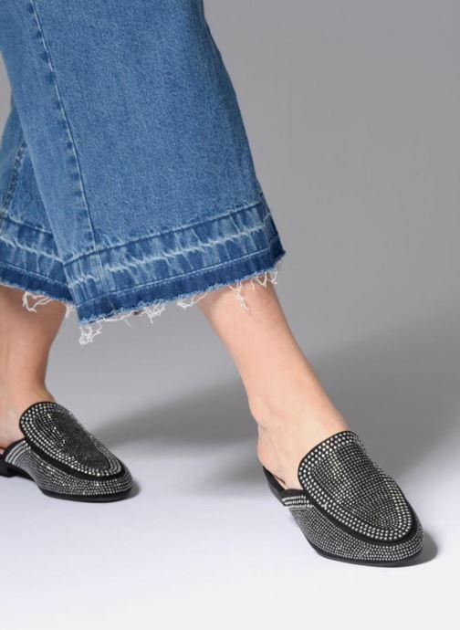 Zuecos I Love Shoes Thelui Negro vista de abajo