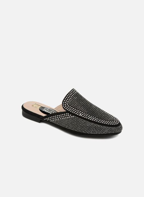 Zuecos I Love Shoes Thelui Negro vista de detalle / par
