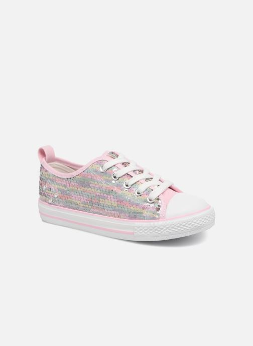 Baskets I Love Shoes Thiciel Rose vue détail/paire