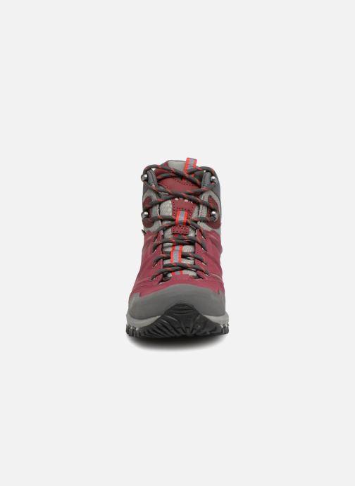 Chaussures de sport Millet LD HIKE UP MID Bordeaux vue portées chaussures