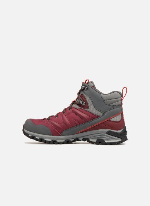 Chaussures de sport Millet LD HIKE UP MID Bordeaux vue face