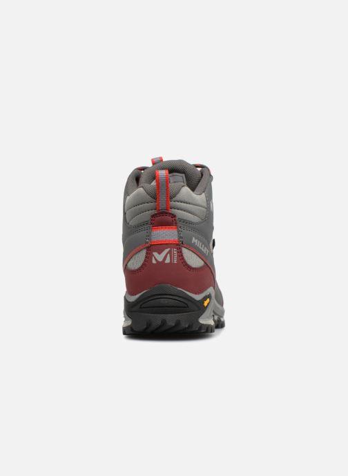 Chaussures de sport Millet LD HIKE UP MID Bordeaux vue droite