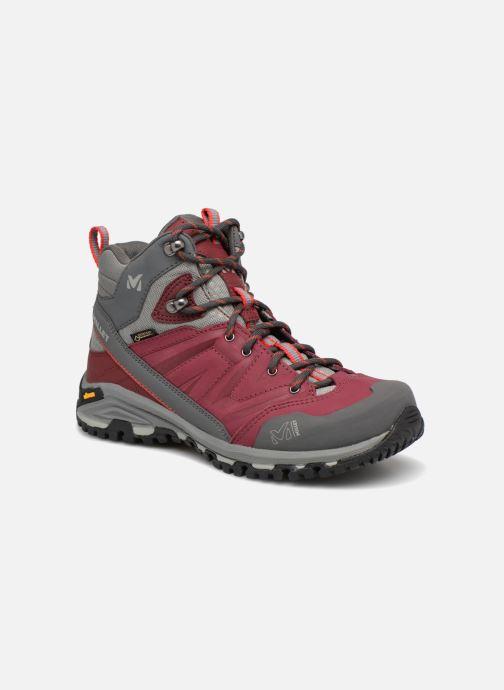 Chaussures de sport Millet LD HIKE UP MID Bordeaux vue détail/paire