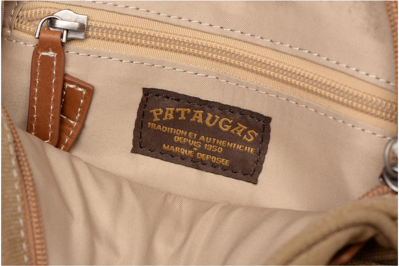 Herrentaschen Pataugas Porté travers Evasion beige ansicht von hinten