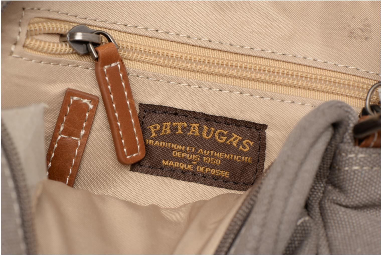 Herrentaschen Pataugas Porté travers Evasion grau ansicht von hinten