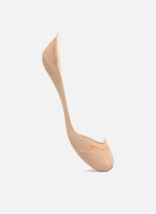 Socks & tights Doré Doré Femme Solerette Invisible Beige detailed view/ Pair view