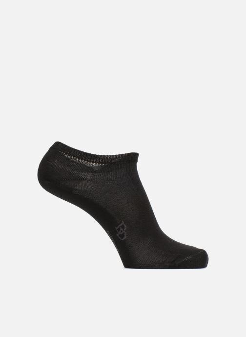 Chaussettes et collants Doré Doré Chaussons Maille Unie Noir vue détail/paire