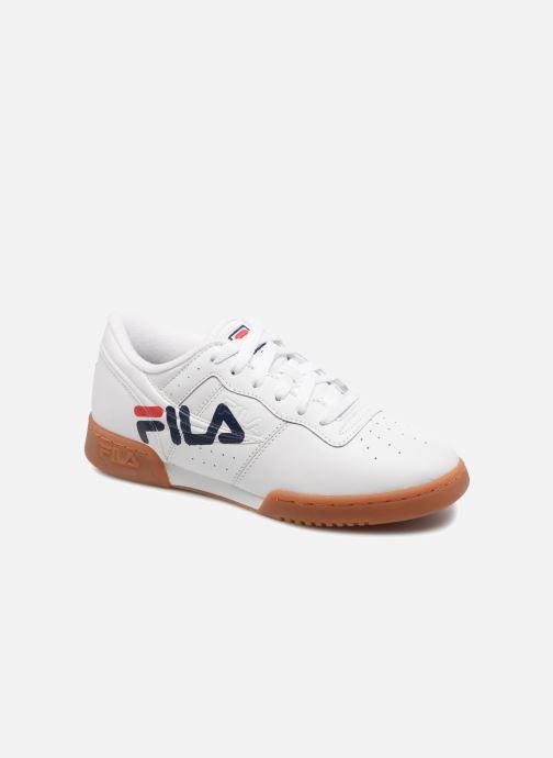 Deportivas FILA Original fitness logo Blanco vista de detalle / par