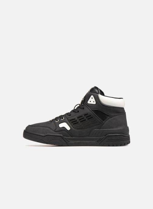 Sneakers Champion Mid Cut Shoe 3 ON 3 PU Zwart voorkant