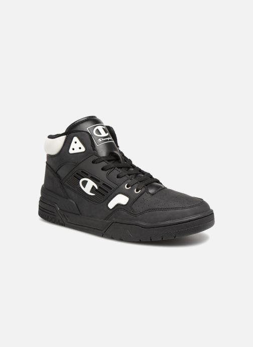 Sneakers Champion Mid Cut Shoe 3 ON 3 PU Zwart detail