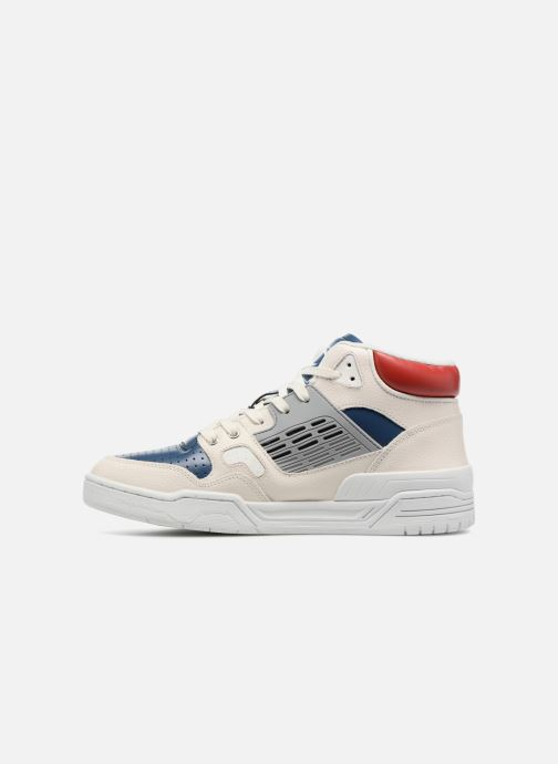 22fd11ee77a Champion Mid Cut Shoe 3 ON 3 LEATHER (White) - Trainers chez Sarenza ...