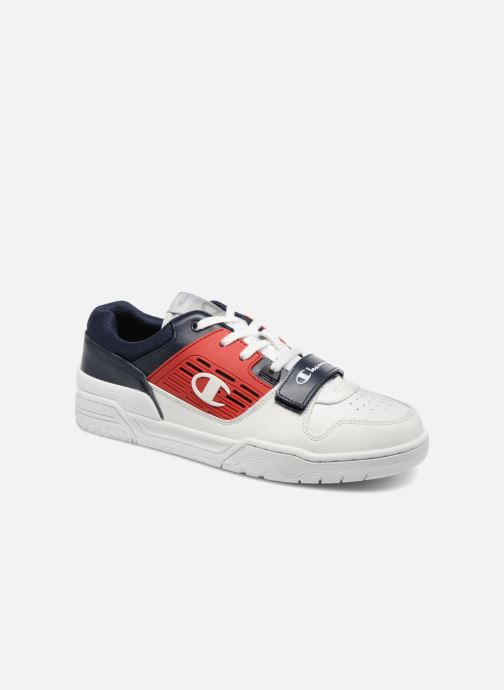 23a72417ee0e8 Champion Low Cut Shoe 3 ON 3 LOW LEATHER (White) - Trainers chez ...