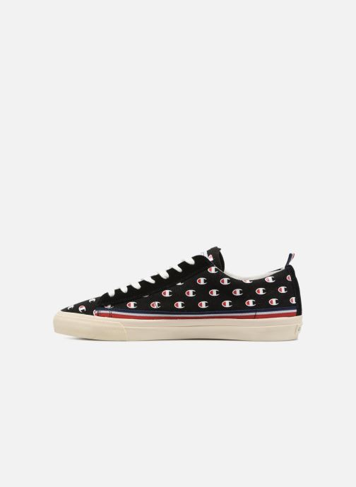 Baskets Champion Low Cut Shoe MERCURY LOW CANVAS Noir vue face