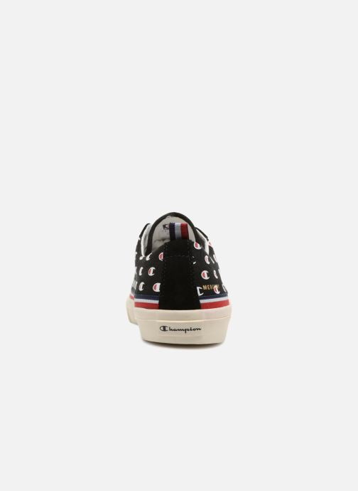 Baskets Champion Low Cut Shoe MERCURY LOW CANVAS Noir vue droite